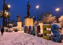[Fotos] Tremenda nevada cae en Nogales y Sonora