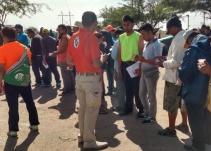 """En nueva caravana migrante """"miles están tratando de dar portazo"""": Segob"""