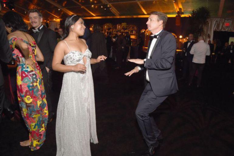 Yalitza Aparicio le sacó brillo a la pista con tremendos pasos de baile