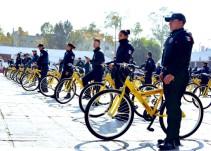 Hola bicicleta; adiós patrulla porque la gasolina no llega en Neza