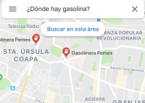 FAKE: Google Maps no activó ninguna función para ubicar dónde hay gasolina