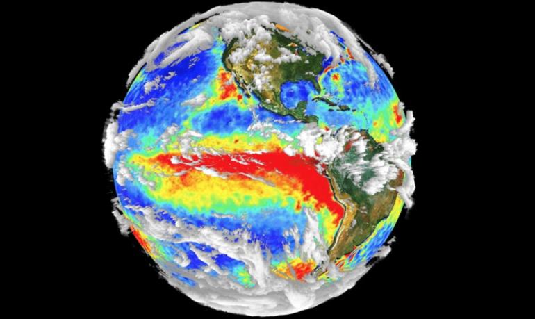 calentamiento de oceanos