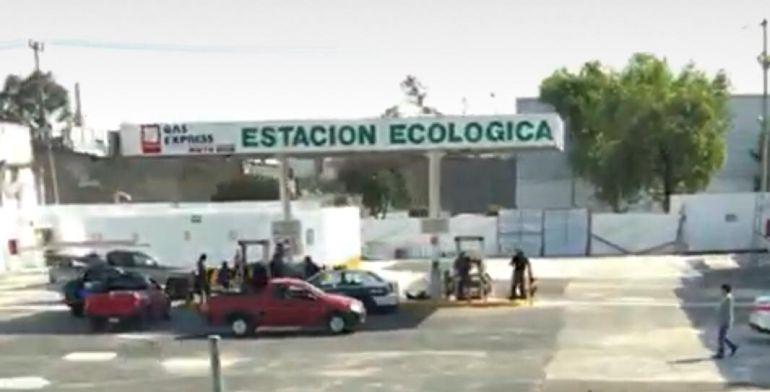 Opera gasera clandestina en Venustiano Carranza