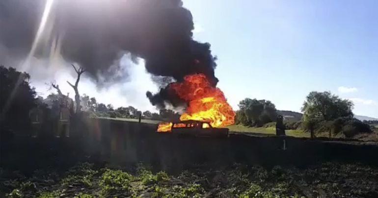 Los otros incendios por tomas clandestinas en Tlahuelilpan, Hidalgo