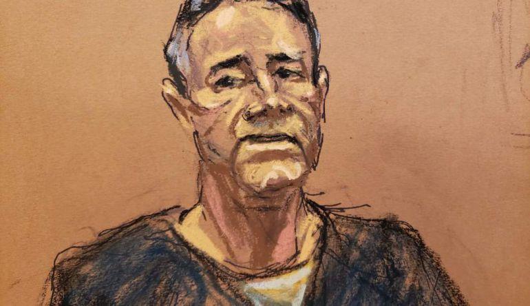 """El esperado encuentro llegó: así saludó Dámaso a """"El Chapo"""" en juicio"""