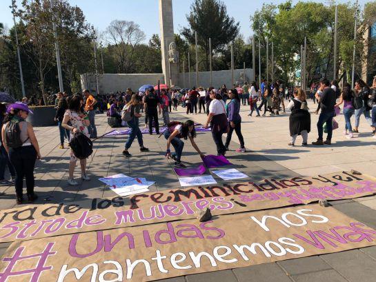 Protestan contra la violencia hacia las mujeres
