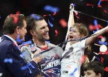 Los Patriotas ganan el Super Bowl
