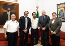 Alcalde de Cuernavaca se reúne con autoridades de Morelos