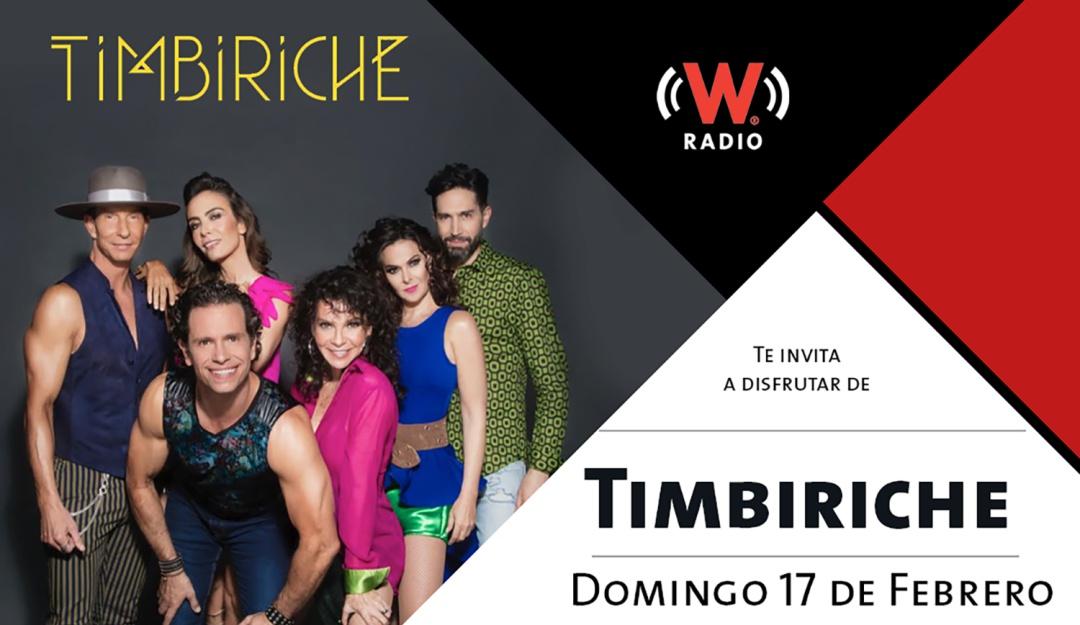 W RADIO te invita a disfrutar de Timbiriche