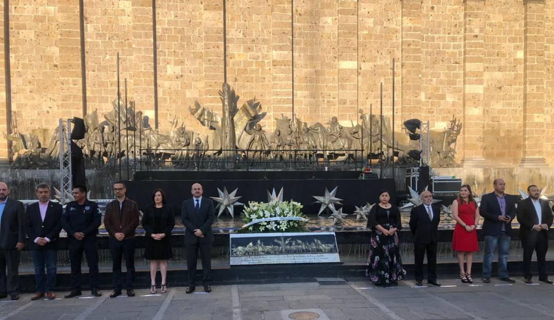Celebran el aniversario 477 de Guadalajara
