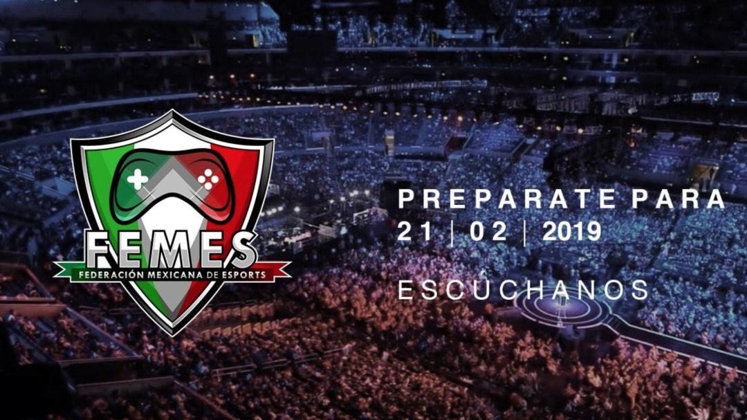 Presentación de la Federación Mexicana de eSports