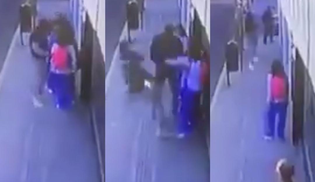 [VIDEO] Una estudiante enfrenta a ladrón y lo electrocuta