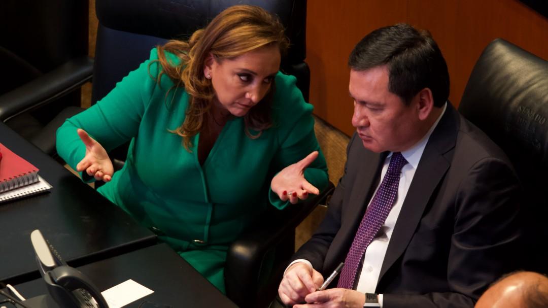 Los senadores del PRI estamos unidos: Osorio Chong