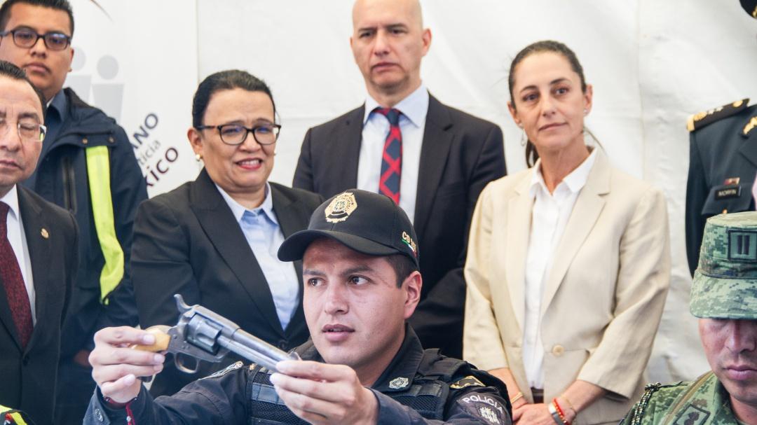Llega el desarme voluntario a Catedral Metropolitana