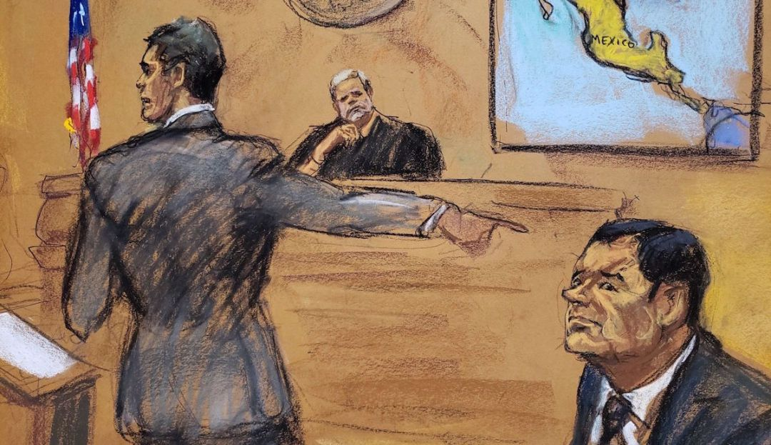 """Rompe el silencio jurado que estuvo en el juicio de """"El Chapo"""" Guzmán"""