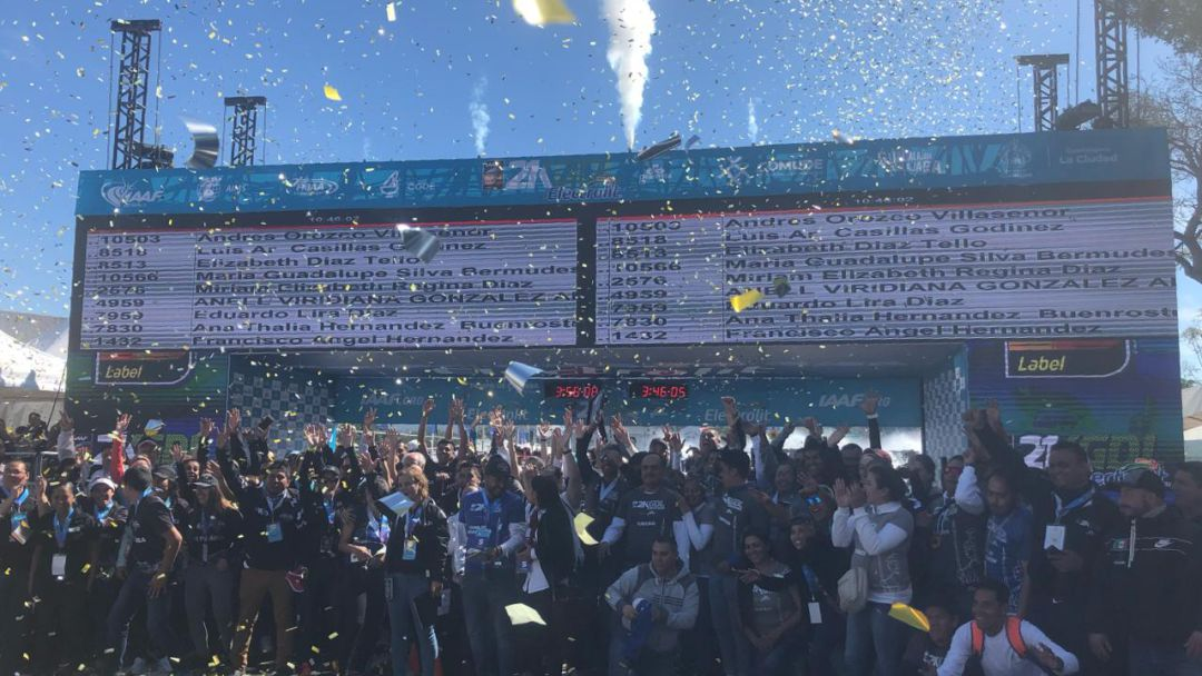 Superan las expectativas en el Medio Maratón Internacional de Guadalajara