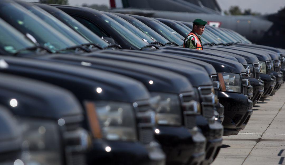 Obtiene Gobierno más de 60 mdp en subasta de vehículos en Santa Lucía