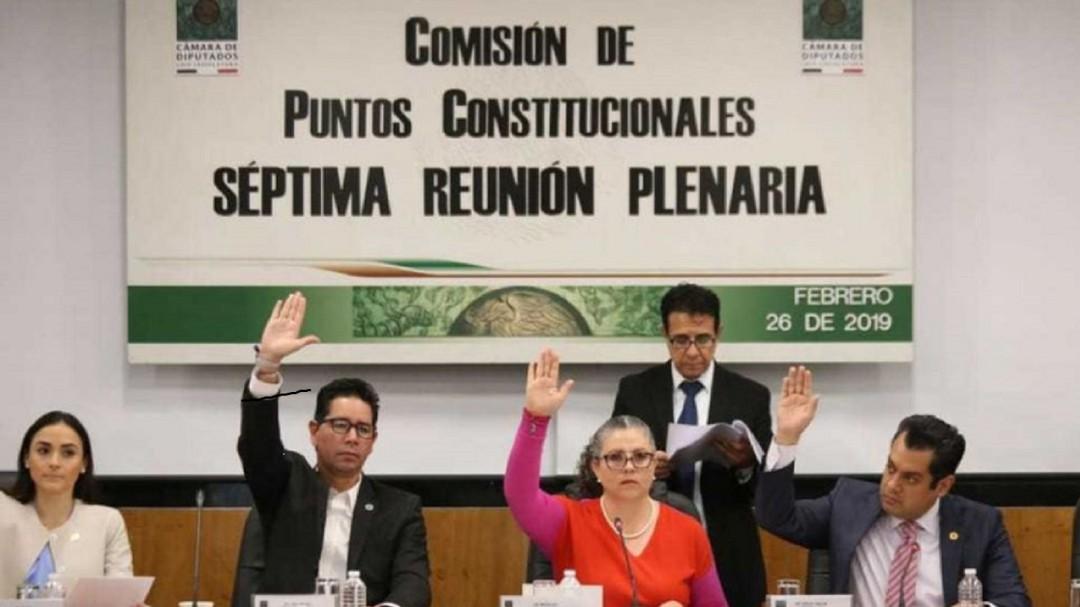 Diputados avalan en comisiones Guardia Nacional
