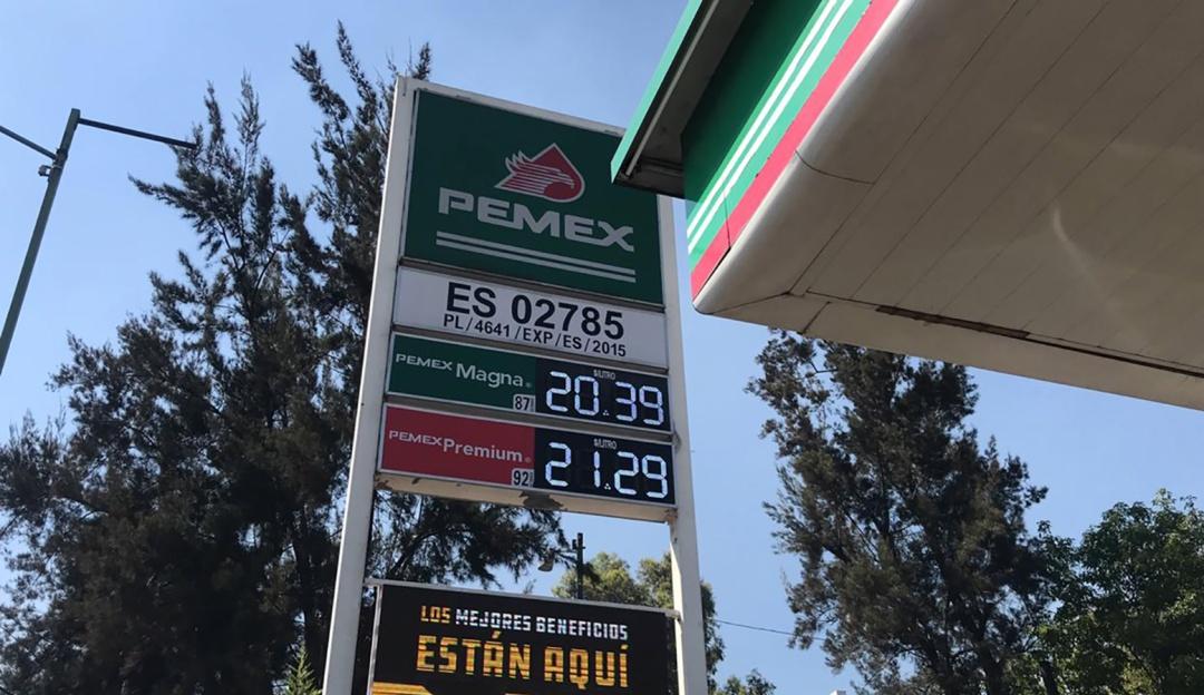 Sube el precio de la gasolina; así la están despachando