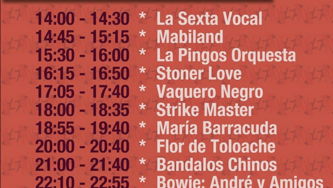 Prepárate, este es el cartel del Vive Latino 2019 con todos los horarios de