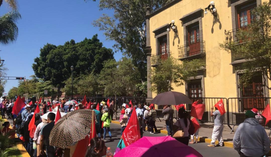 Movimiento Antorchista exige servicios básicos en diferentes colonias