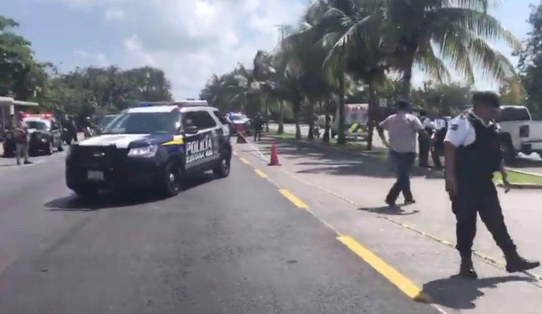 Ejecutan a tres en la Zona Hotelera de Cancún