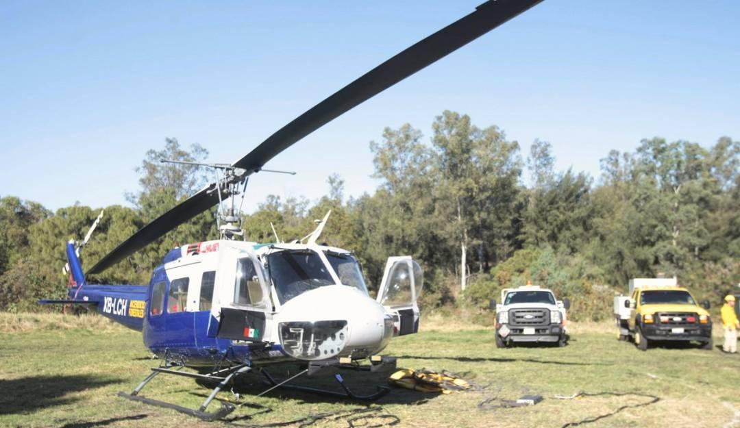 Llega 'Tláloc' a Zapopan para combatir incendios forestales