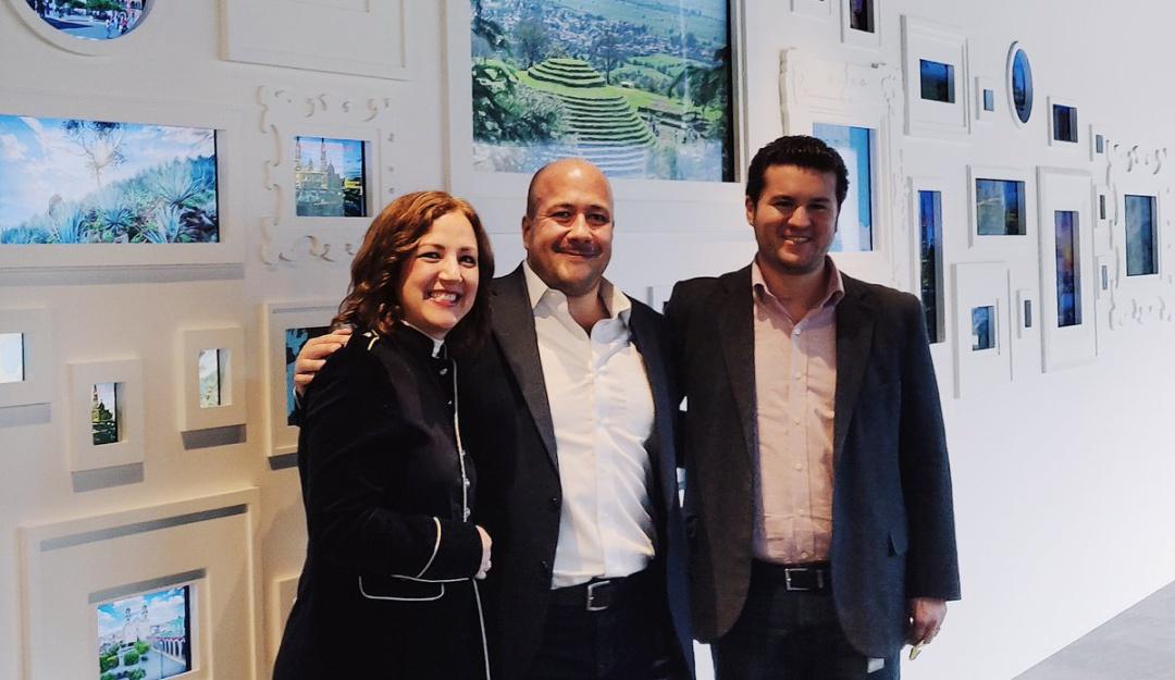 Atrajo inversión la gira de Enrique Alfaro en EUA: Ernesto Sánchez