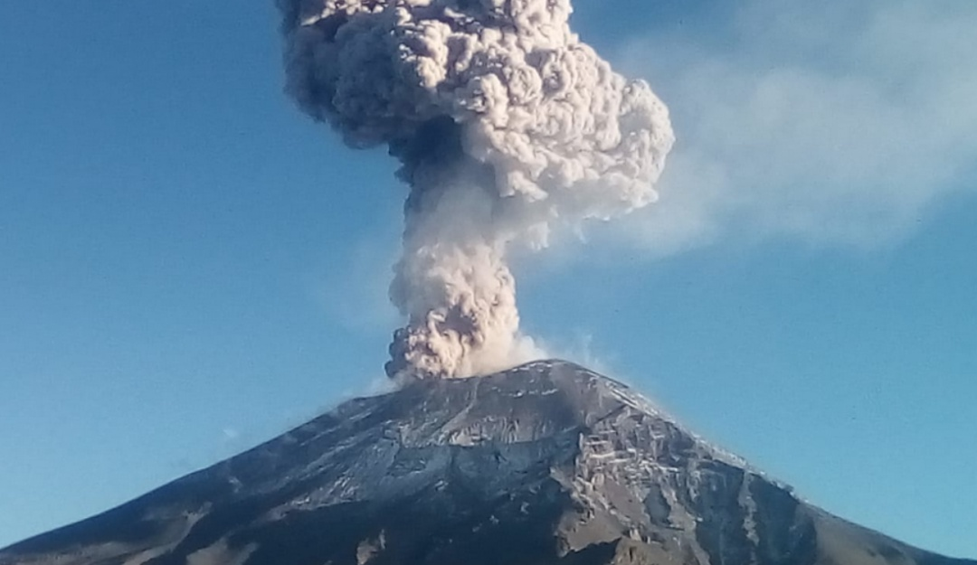 Calma Don Goyo; actividad del Popocatépetl preocupa a autoridades