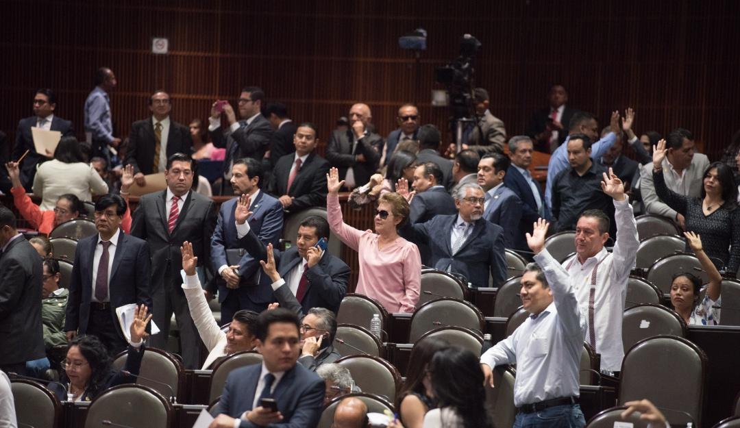 Declaran diputados constitucionalidad de extinción de dominio
