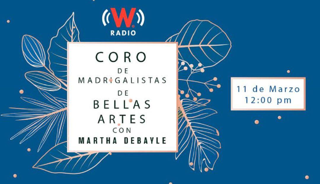#FBLIVEW ¡Coro de Madrigalistas de Bellas Artes!