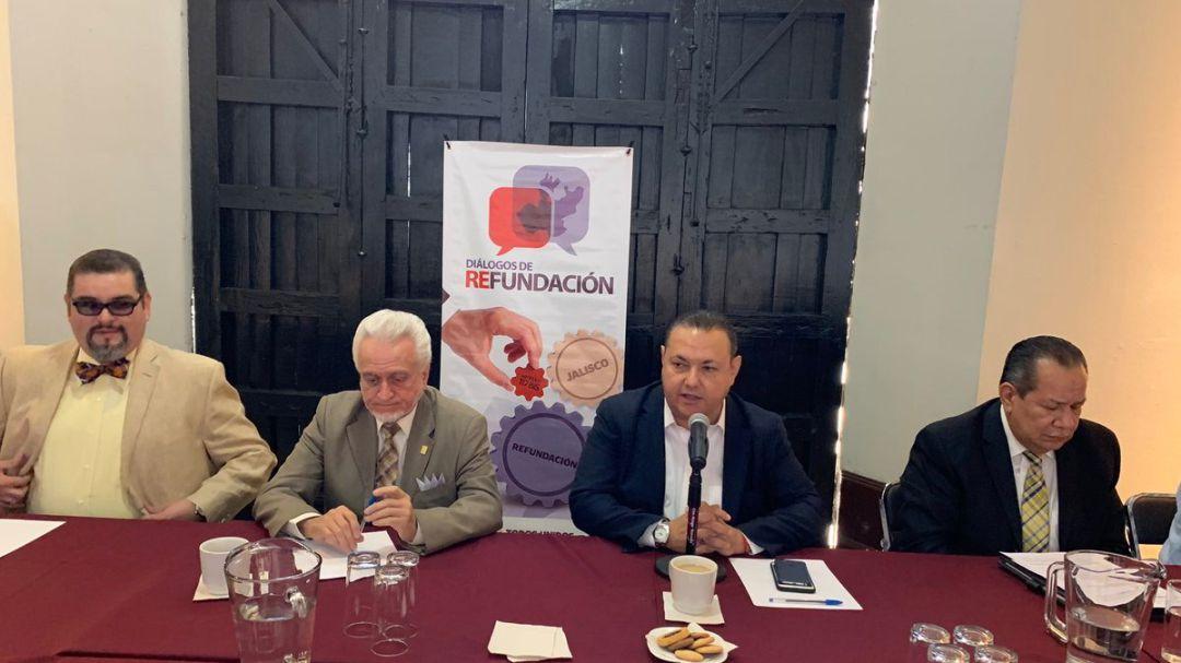 Héctor Pizano convoca mesas de diálogo sobre la Refundación de Jalisco