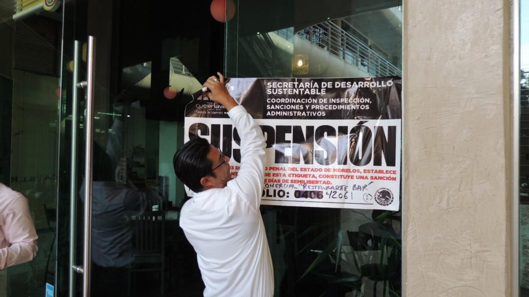 Clausuran antros en el Centro Histórico de Cuernavaca