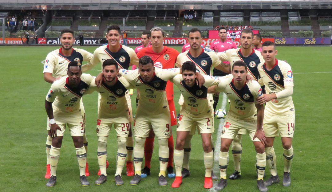 Jorge Sánchez y el club América