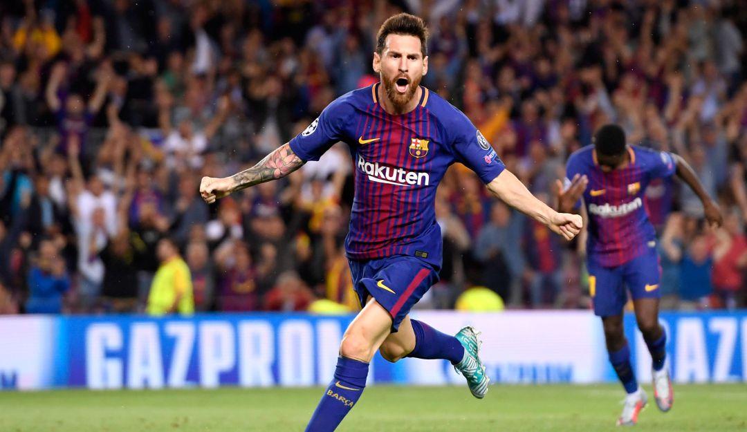 Messi metió dos goles