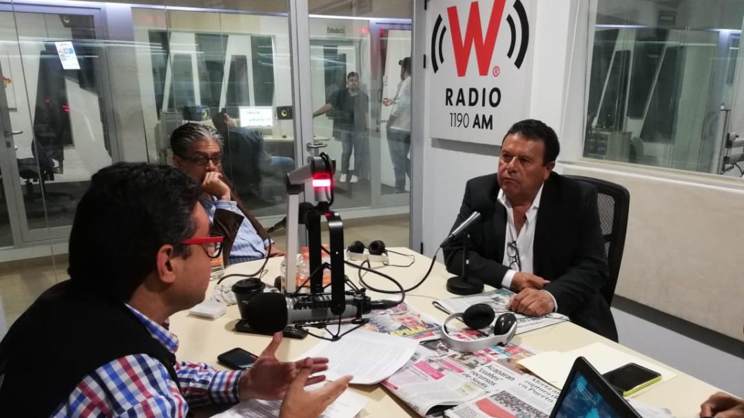 Reporte W con el director de los penales en Jalisco