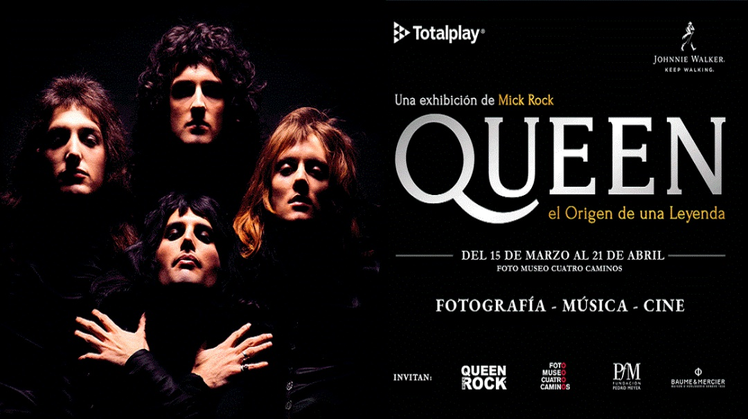 Foto Exposición de Queen con Mick Rock