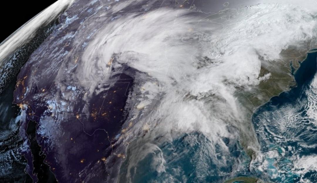 """Poderoso """"ciclón bomba"""" ha desatado su fuerza en Estados Unidos"""