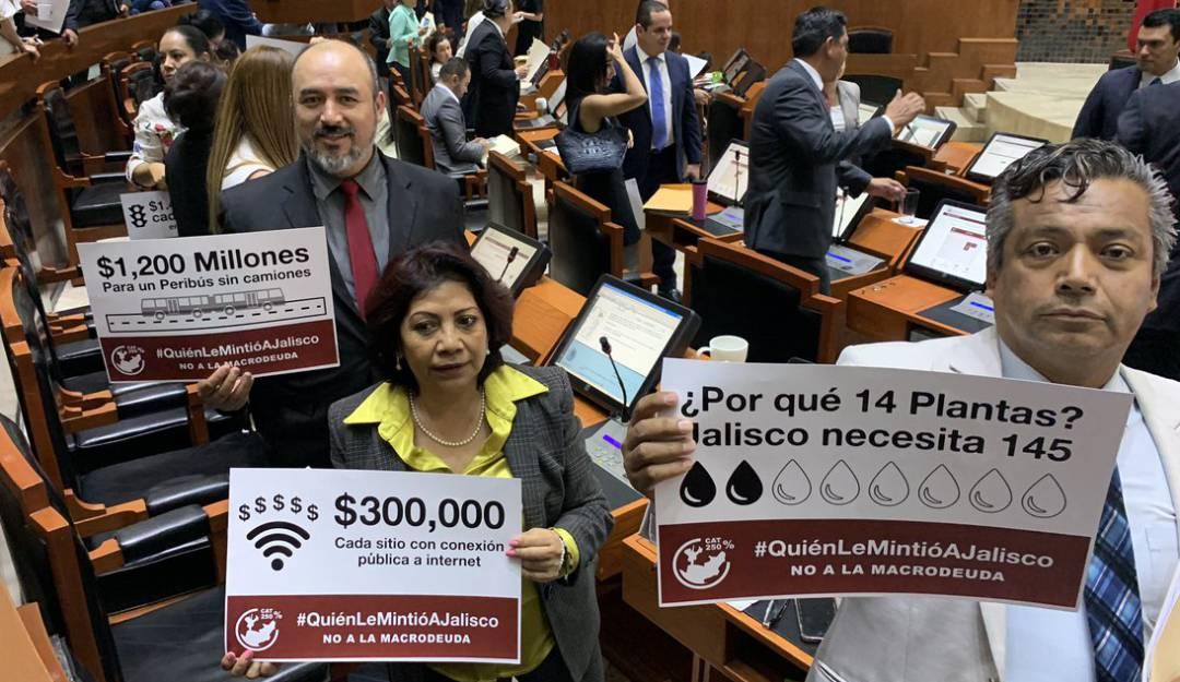 Congreso aprueba deuda para Jalisco