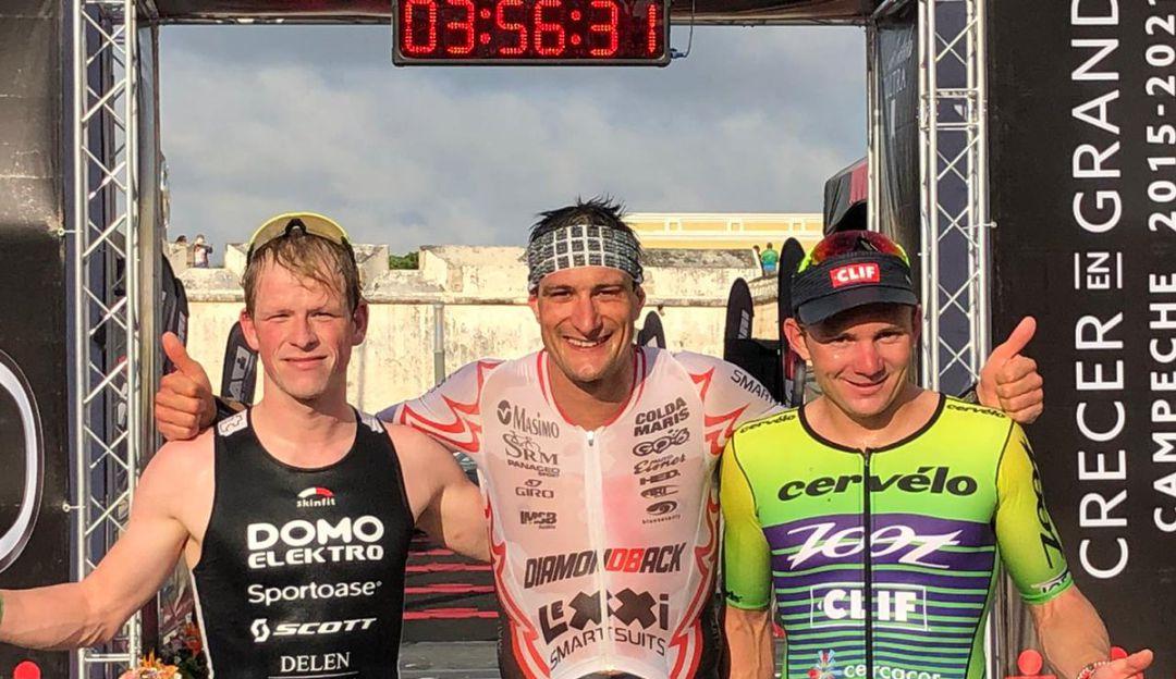 Ganadores del Triatlon
