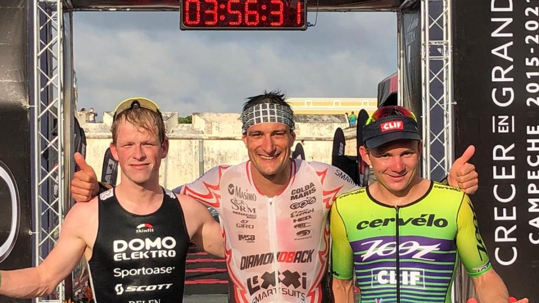 Concluyó el Ironman 70.3 de Campeche con gran éxito