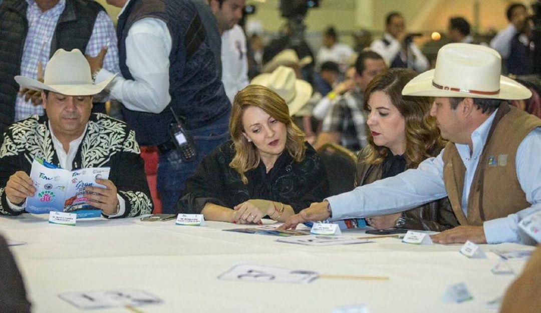 Ganaderos y agricultores del mundo se reúnen en Tamaulipas.