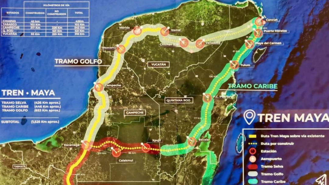 AMLO: No habrá aumentos en la construcción del Tren Maya