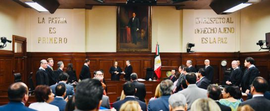 Jazmín Esquivel asume cargo como ministra de la SCJN