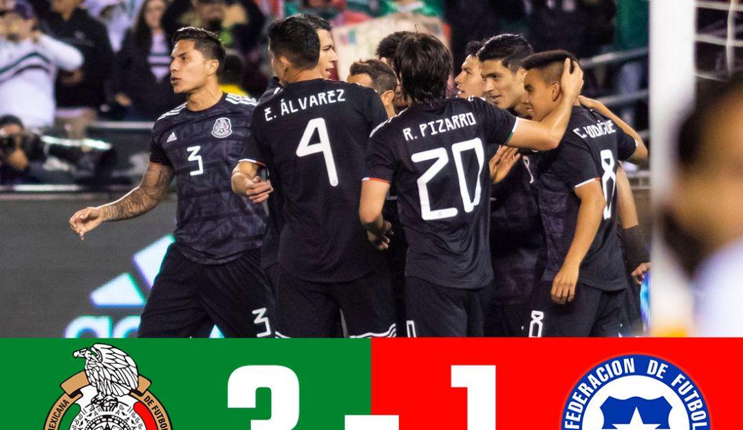 México derrotó a Chile