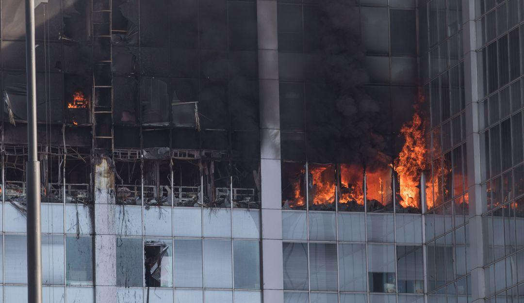 incendio, Conagua: No hubo víctimas ni heridos tras el incendio en edificio de Conagua