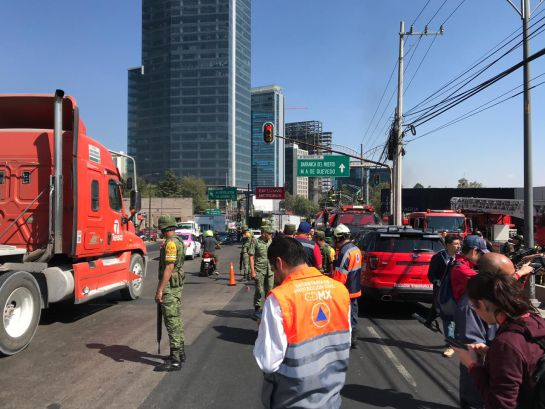No hubo víctimas ni heridos tras el incendio en edificio de Conagua