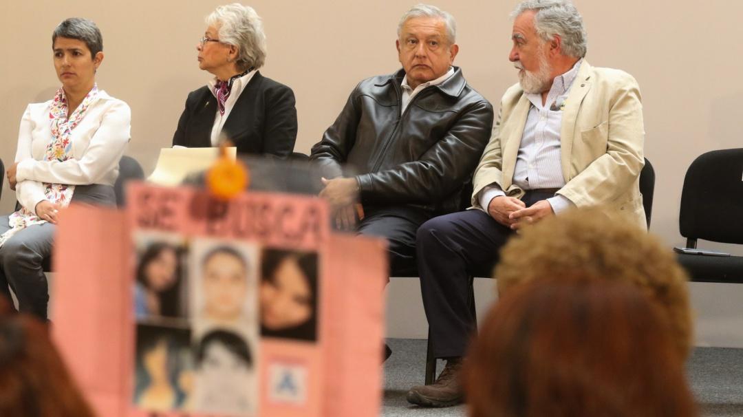 No habrá límite presupuestal en búsqueda de desaparecidos: AMLO