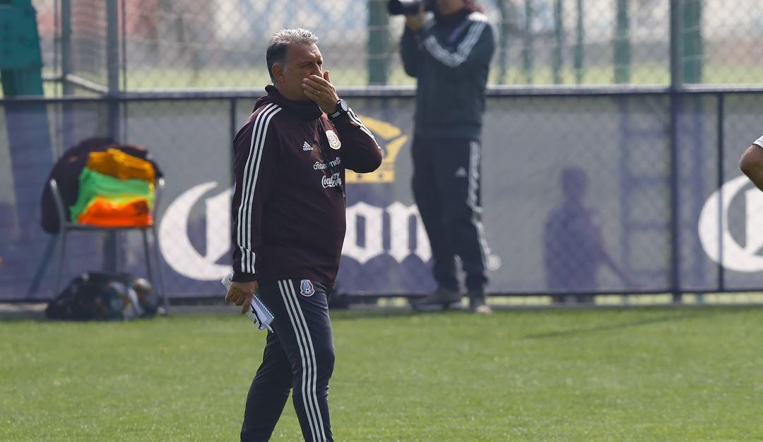 Gerardo Martino analiza su once ante Paraguay