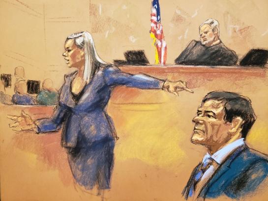 """Cabos sueltos en juicio de """"El Chapo"""": confesiones que no debían revelarse"""